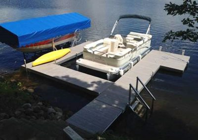 Boat and Pontoon lift